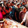 Kunjungi Tulungagung, Presiden Dapat Info Harga Ayam Turun