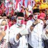 Charta Politika : Tren Eri-Armudji Terus Menanjak, Tinggalkan Machfud-Mujiaman